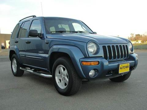 2004 Jeep Liberty for sale at PRICE TIME AUTO SALES in Sacramento CA