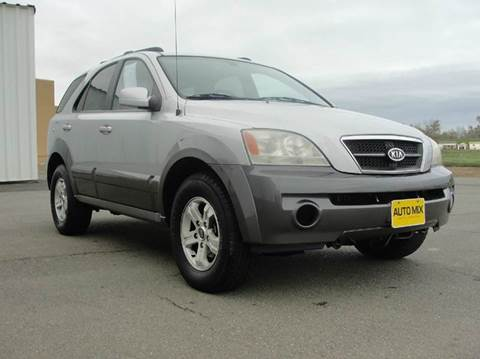 2004 Kia Sorento for sale at PRICE TIME AUTO SALES in Sacramento CA
