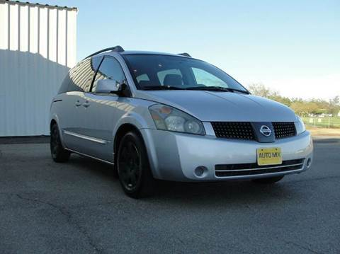 2005 Nissan Quest for sale at PRICE TIME AUTO SALES in Sacramento CA