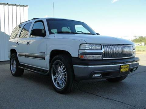 2002 Chevrolet Tahoe for sale at PRICE TIME AUTO SALES in Sacramento CA