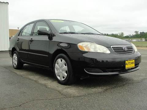 2007 Toyota Corolla for sale at PRICE TIME AUTO SALES in Sacramento CA
