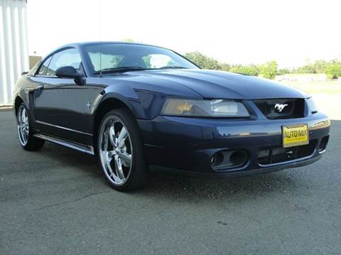 2003 Ford Mustang for sale at PRICE TIME AUTO SALES in Sacramento CA