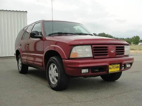 1998 Oldsmobile Bravada for sale at PRICE TIME AUTO SALES in Sacramento CA