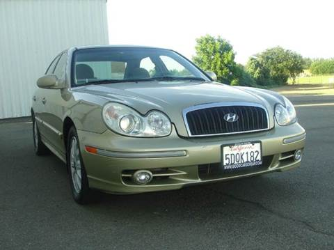 2003 Hyundai Sonata for sale at PRICE TIME AUTO SALES in Sacramento CA