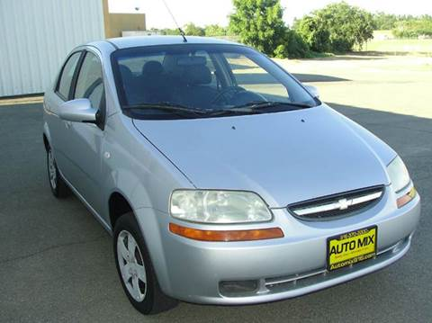 2006 Chevrolet Aveo for sale at PRICE TIME AUTO SALES in Sacramento CA