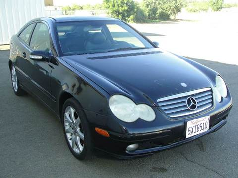 2002 Mercedes-Benz C-Class for sale at PRICE TIME AUTO SALES in Sacramento CA