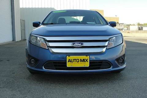 2010 Ford Fusion for sale at PRICE TIME AUTO SALES in Sacramento CA