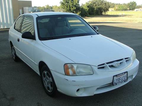 2002 Hyundai Accent for sale at PRICE TIME AUTO SALES in Sacramento CA