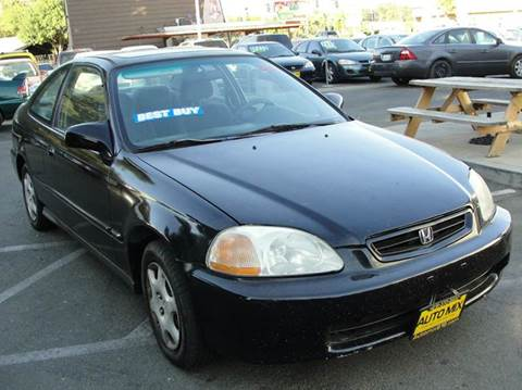 1998 Honda Civic for sale at PRICE TIME AUTO SALES in Sacramento CA