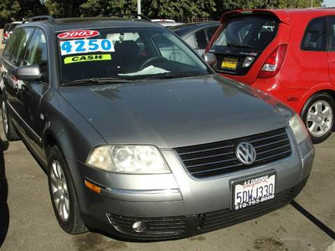 2003 Volkswagen Passat for sale at PRICE TIME AUTO SALES in Sacramento CA