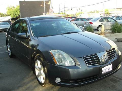 2005 Nissan Maxima for sale at PRICE TIME AUTO SALES in Sacramento CA