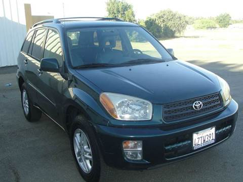 2002 Toyota RAV4 for sale at PRICE TIME AUTO SALES in Sacramento CA