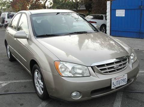 2004 Kia Spectra for sale at PRICE TIME AUTO SALES in Sacramento CA