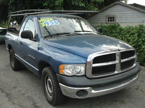 2005 Dodge Ram Pickup 1500 for sale at PRICE TIME AUTO SALES in Sacramento CA