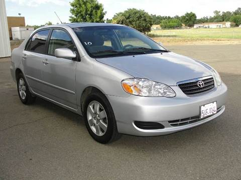 2006 Toyota Corolla for sale at PRICE TIME AUTO SALES in Sacramento CA