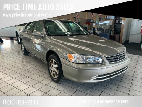 2000 Toyota Camry for sale at PRICE TIME AUTO SALES in Sacramento CA