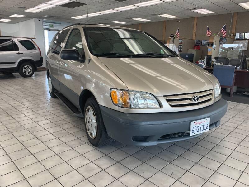 2002 Toyota Sienna for sale at PRICE TIME AUTO SALES in Sacramento CA