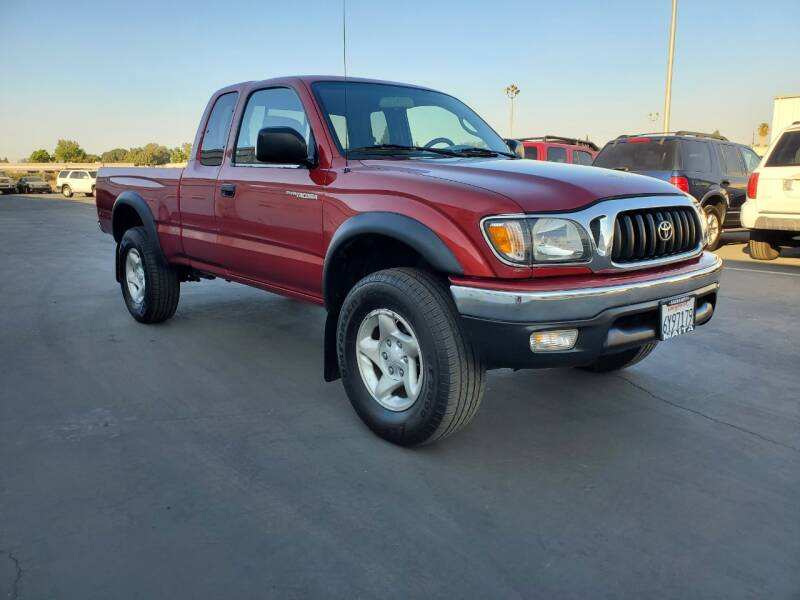 2002 Toyota Tacoma for sale at PRICE TIME AUTO SALES in Sacramento CA