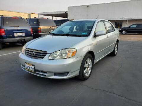 2003 Toyota Corolla for sale at PRICE TIME AUTO SALES in Sacramento CA