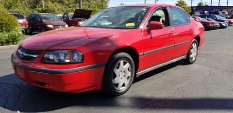 2004 Chevrolet Impala for sale at Tri City Auto Mart in Lexington KY