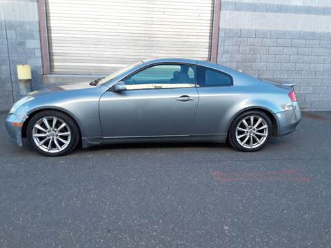 2007 Infiniti G35 for sale at Autos Under 5000 + JR Transporting in Island Park NY