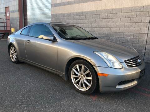 2006 Infiniti G35 for sale at Autos Under 5000 + JR Transporting in Island Park NY