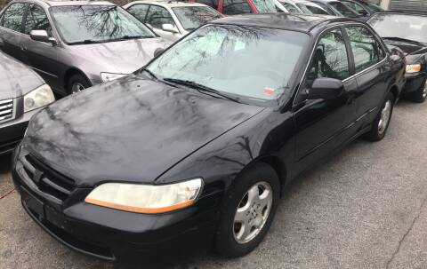 1999 Honda Accord EX V6 for sale at Autos Under 5000 + JR Transporting in Island Park NY