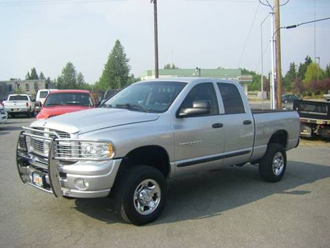 2005 Dodge Ram Pickup 2500 Laramie for sale at NORTHWEST AUTO SALES LLC in Anchorage AK
