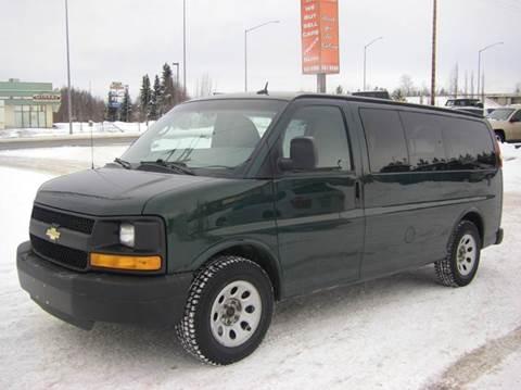 2014 Chevrolet Express Passenger LS 1500 for sale at NORTHWEST AUTO SALES LLC in Anchorage AK