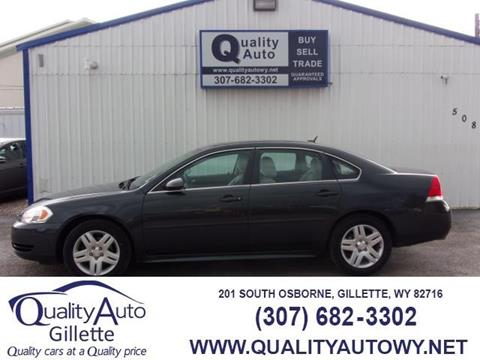 2015 Chevrolet Impala Limited for sale in Gillette, nul