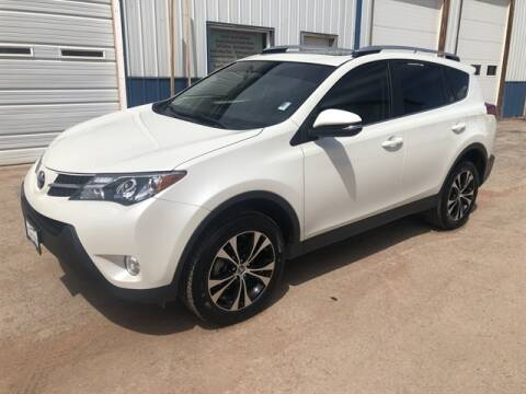 2015 Toyota RAV4 Limited for sale at QUALITY AUTO OF GILLETTE in Gillette nul
