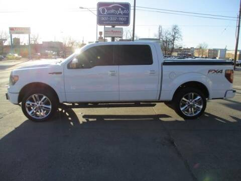 2014 Ford F-150 for sale at QUALITY AUTO OF GILLETTE in Gillette nul