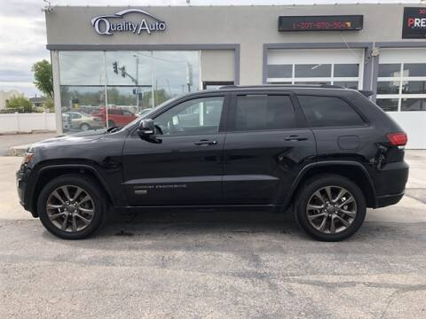 2017 Jeep Grand Cherokee for sale at QUALITY AUTO OF GILLETTE in Gillette nul