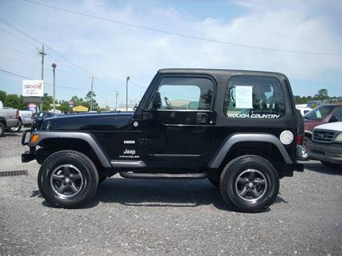 Jeep Wrangler For Sale In Sc >> 2004 Jeep Wrangler For Sale In Conway Sc