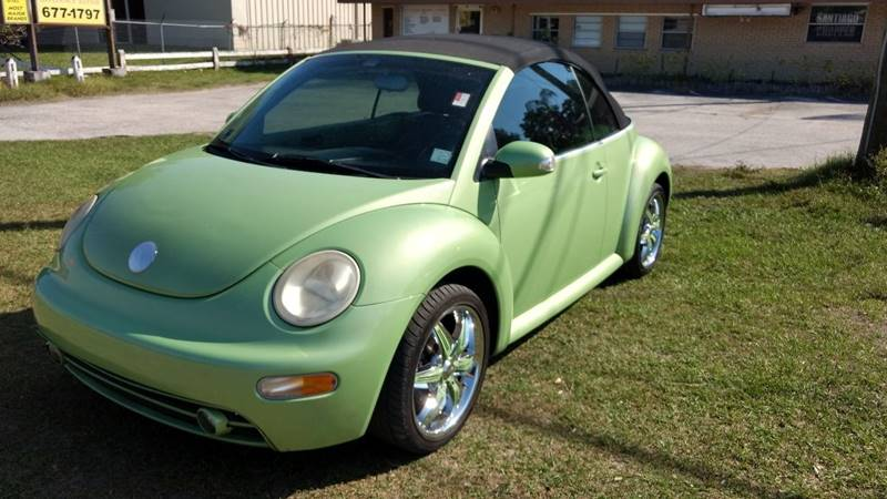 2004 Volkswagen New Beetle 2dr GLS 1.8T Turbo Convertible - Riverview FL