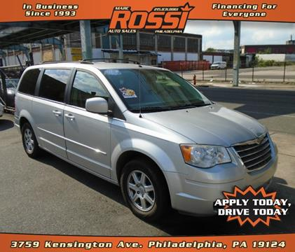 2010 Chrysler Town and Country for sale in Philadelphia PA