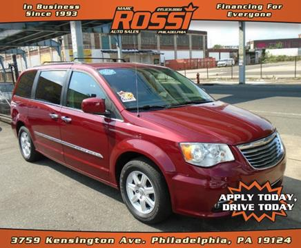 2011 Chrysler Town and Country for sale in Philadelphia PA