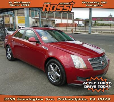 2009 Cadillac CTS for sale in Philadelphia PA