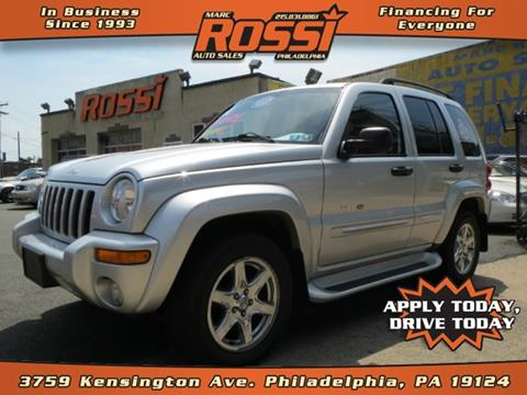 2003 Jeep Liberty for sale in Philadelphia PA
