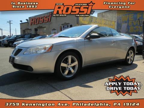 2007 Pontiac G6 for sale in Philadelphia PA