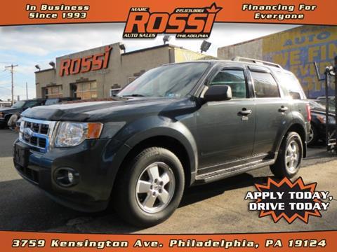 2009 Ford Escape for sale in Philadelphia PA