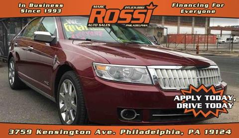 2007 Lincoln MKZ for sale in Philadelphia, PA