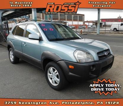 2006 Hyundai Tucson for sale in Philadelphia PA
