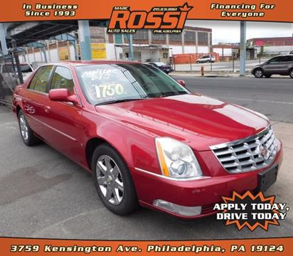 2008 Cadillac DTS for sale in Philadelphia PA