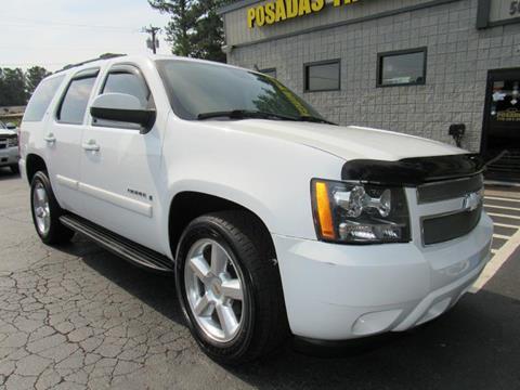 2007 Chevrolet Tahoe for sale at Posada's Trucks in Norcross GA