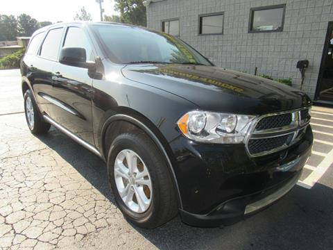 2012 Dodge Durango for sale at Posada's Trucks in Norcross GA