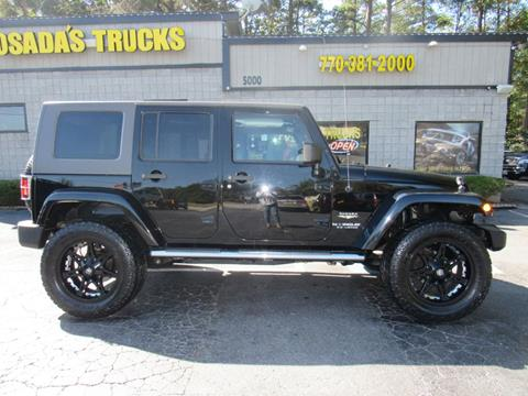 2010 Jeep Wrangler Unlimited for sale in Norcross, GA