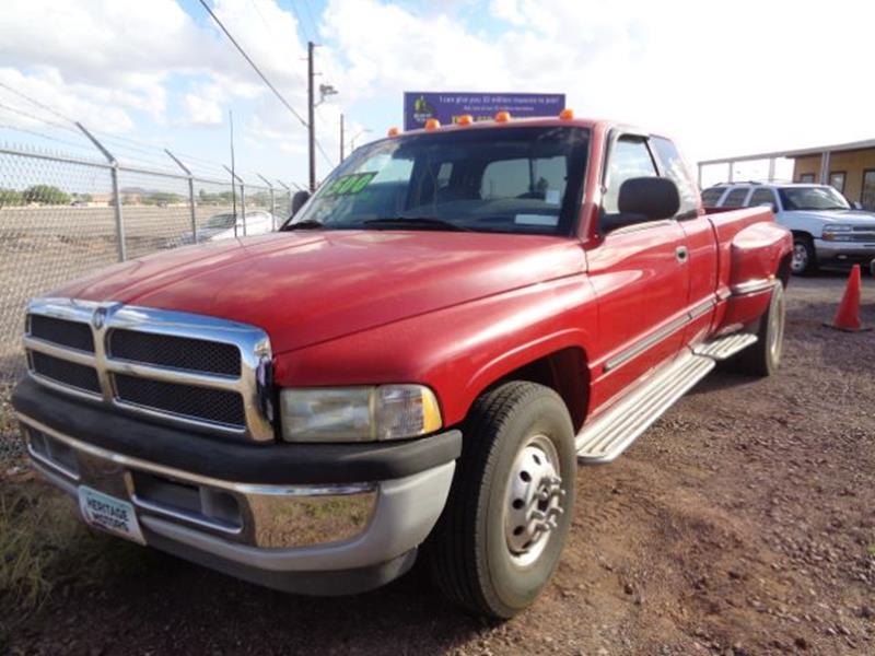 1998 Dodge Ram Pickup 3500 for sale at Heritage Motors in Casa Grande AZ
