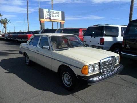 1982 Mercedes-Benz 300-Class for sale at Heritage Motors in Casa Grande AZ