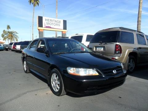 2002 Honda Accord for sale at Heritage Motors in Casa Grande AZ